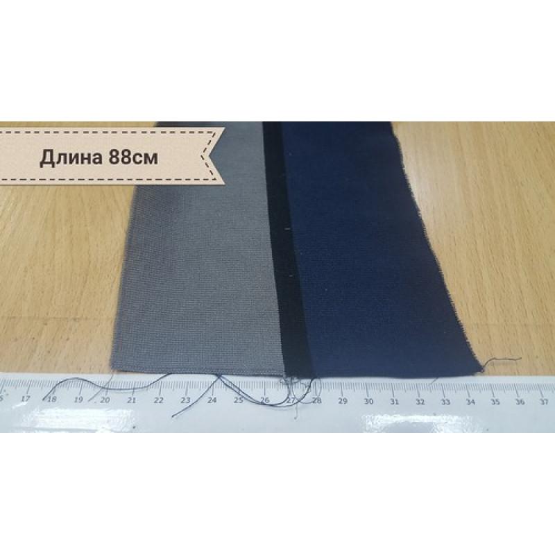 Серо-синий подвяз в черную полоску