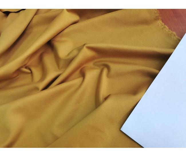 Трикотаж пунтомилано Max Mara.  Цвет желто-горичный