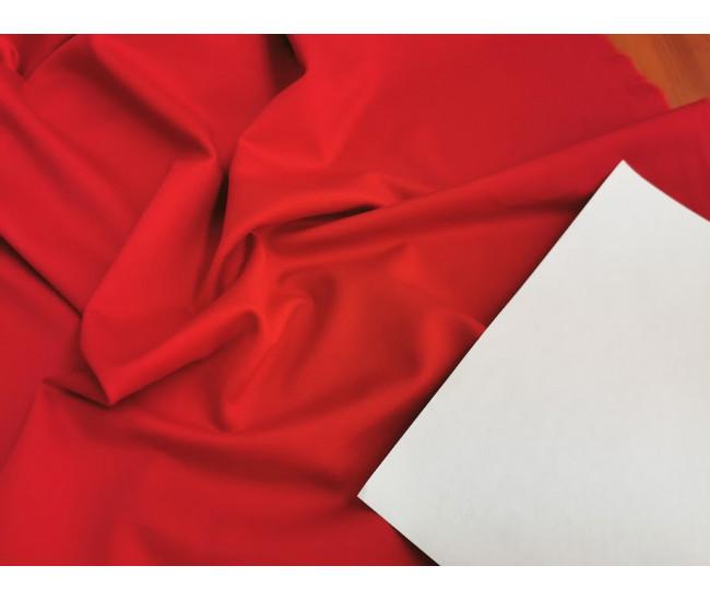 Трикотаж пунтомилано Max Mara.  Цвет красный