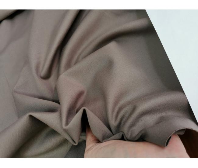 Трикотаж пунтомилано Max Mara.  Цвет дымчатый Остатки 1,1м.и 0,9м.