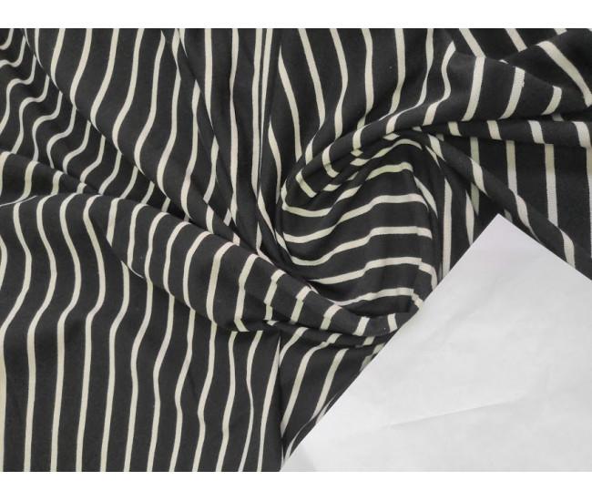 Хлопковый футер, изнанка петля,  цвет фона черный