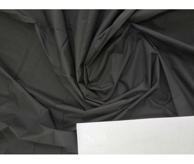 Костюмно-плательная ткань стрейч. Отрез 1,8м. Цвет черный.