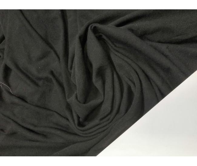 Трикотаж цвет чёрный,  отрез 2м