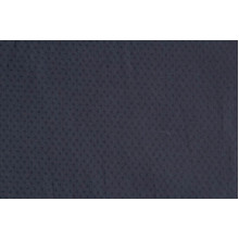 Плательно-блузочный хлопок в мушку,цвет темно-синий
