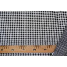 Костюмно-плательный трикотаж  в клетку, отрез 6.8м