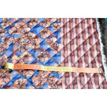 Двусторонняя стежка, с обеих  сторон ткань типа сатин
