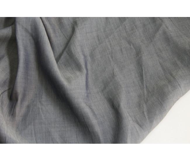 Рубашечная джинса.  Цвет сине - серый.