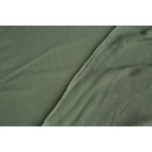 Хлопковый футер ,изнанка петля,  цвет хаки