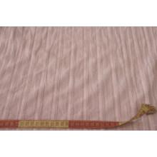 Блузочно-плательный хлопок с фактурными полосками вдоль кромки.    Цвет розовый.