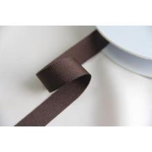 Репсовая тесьма ,ширина 2,0см,  цвет шоколад
