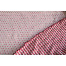 Костюмно-плательная ткань ,  цвет молочно-сине-красный