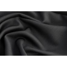 Костюмно-плательная шерсть Zegna,  цвет черный