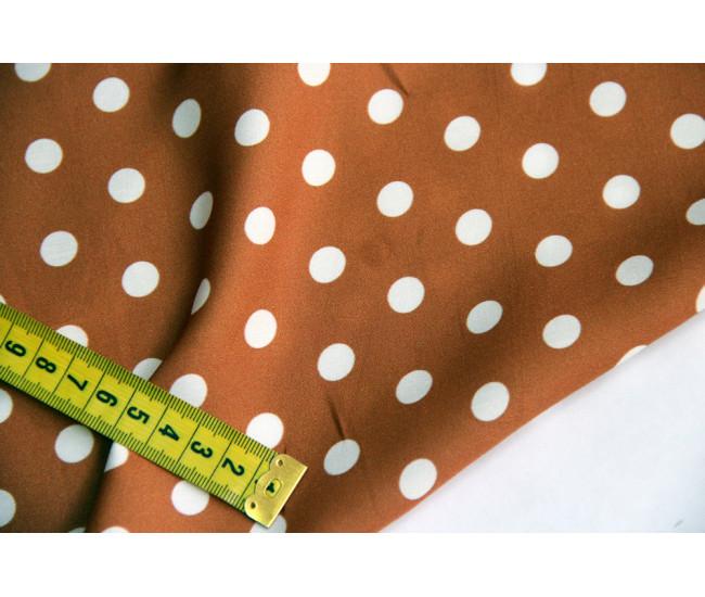 Вискозный шелк с печатью, печать с матовой стороны.