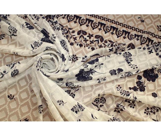 Купонная плательно-блузочная ткань